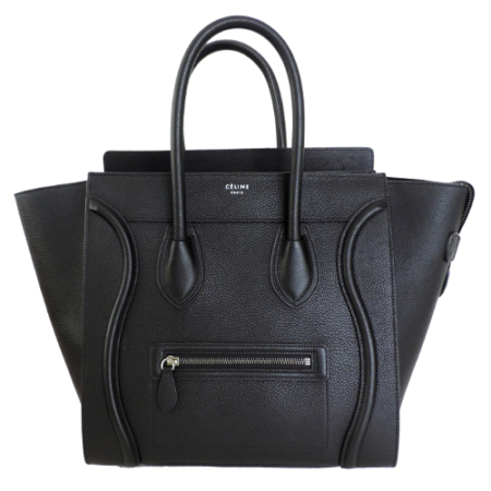 Céline mini luggage bag black (1)